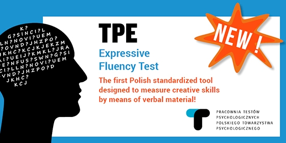 Expressive Fluency Test TPE – the new tool to measure creative skills already available!