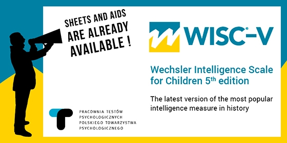 Sheets and aids to the Polish adaptation of WISC®-V are already available