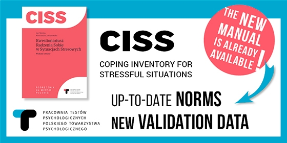 CISS – manual with a newly standardized version of the tool